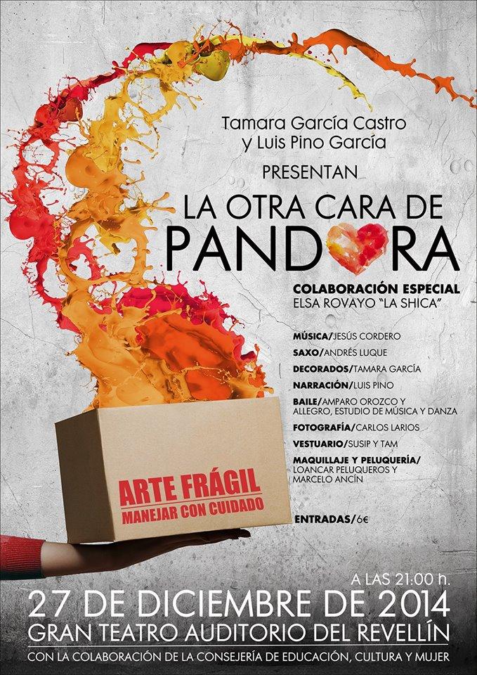 Cartel de 'La otra cara de Pandora'