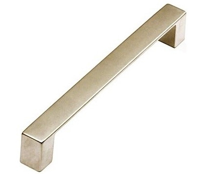 flatbar pulls come in multiple lengths and finishes from sleek