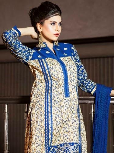 Edenrobe Pret Dress Collection 2014-15
