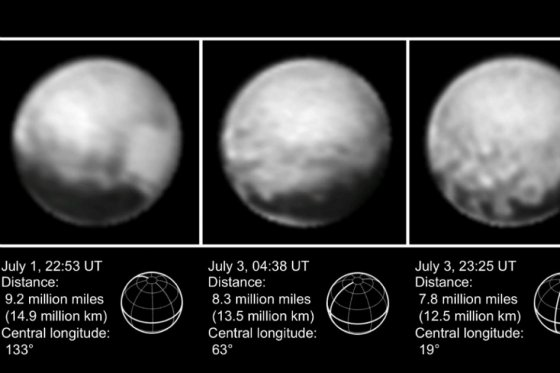 Plutón es un poco más grande de lo sabido