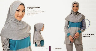 Contoh Model Hijab Modern Untuk Olahraga