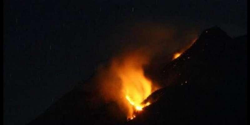 Merbabu Padam Kebakaran Pindah ke Gunung Kawi