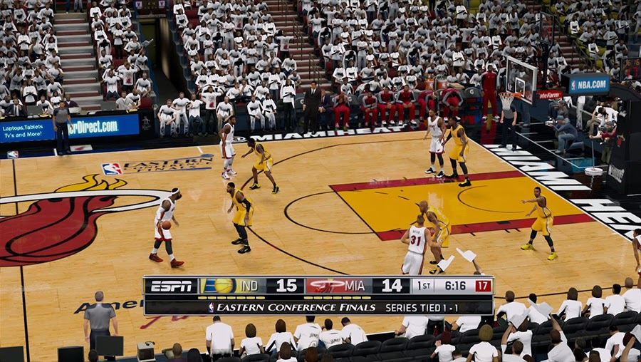 Miami Heat Court ECF Court Patch