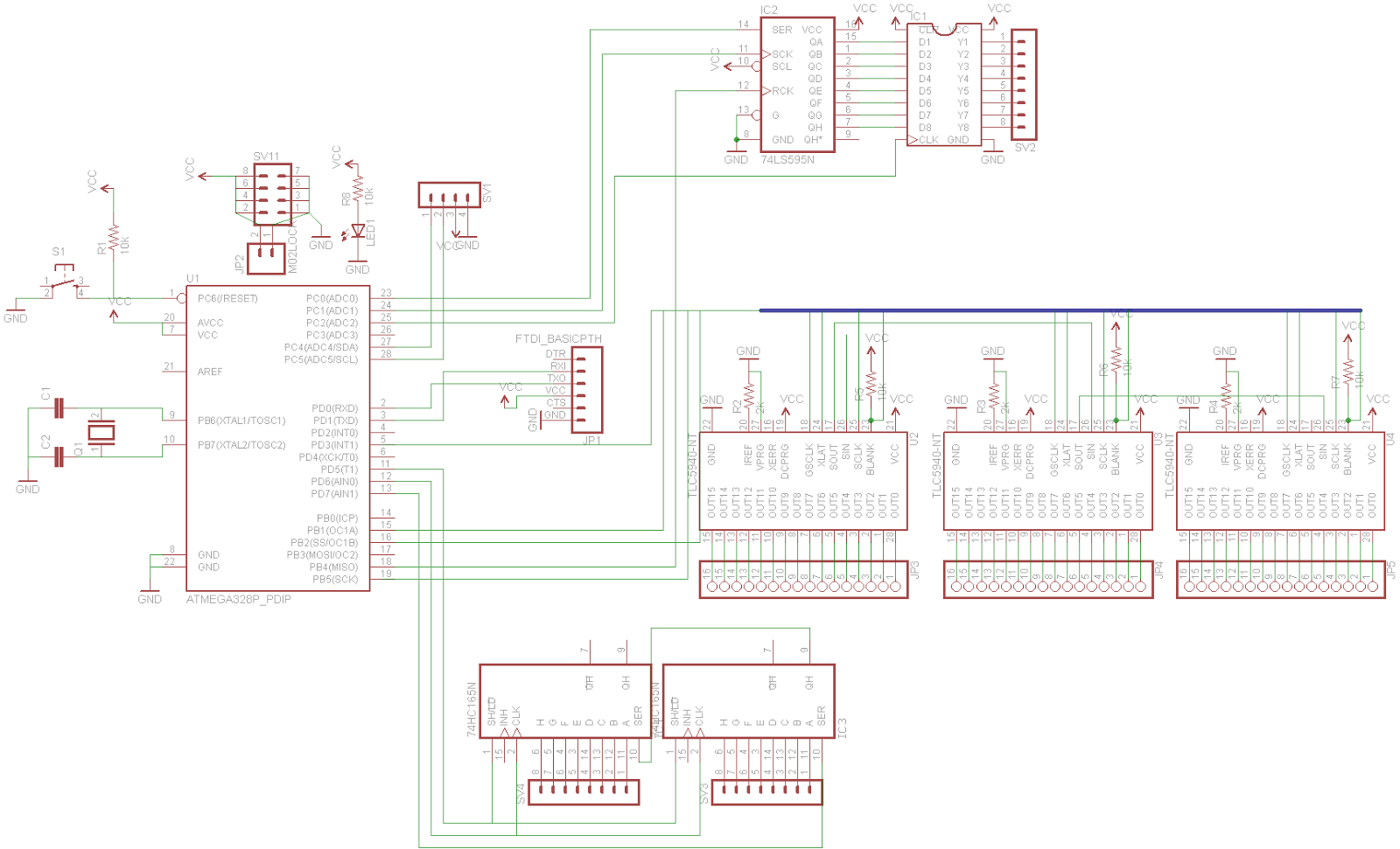 Schematic To Arduino Tlc5940 likewise Digital Volume Control Circuit Schematic besides Automatic Light Dimmer likewise What Resistor Do You Need For An Led moreover Motors. on led current control and the arduino tutorial