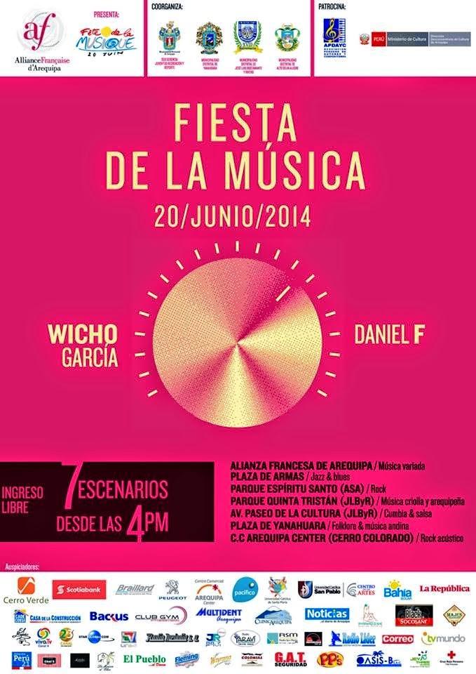 la fiesta de la musica 2014 Arequipa