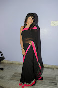 Isha Ranganath glam pics in saree-thumbnail-6