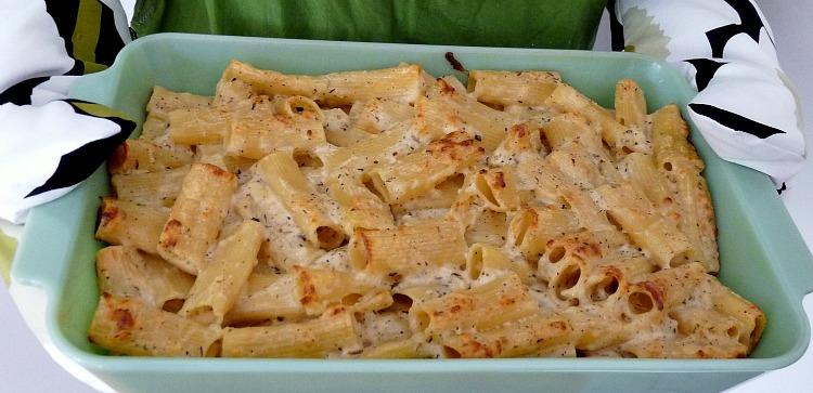 Easy gruyere mac & cheese recipe