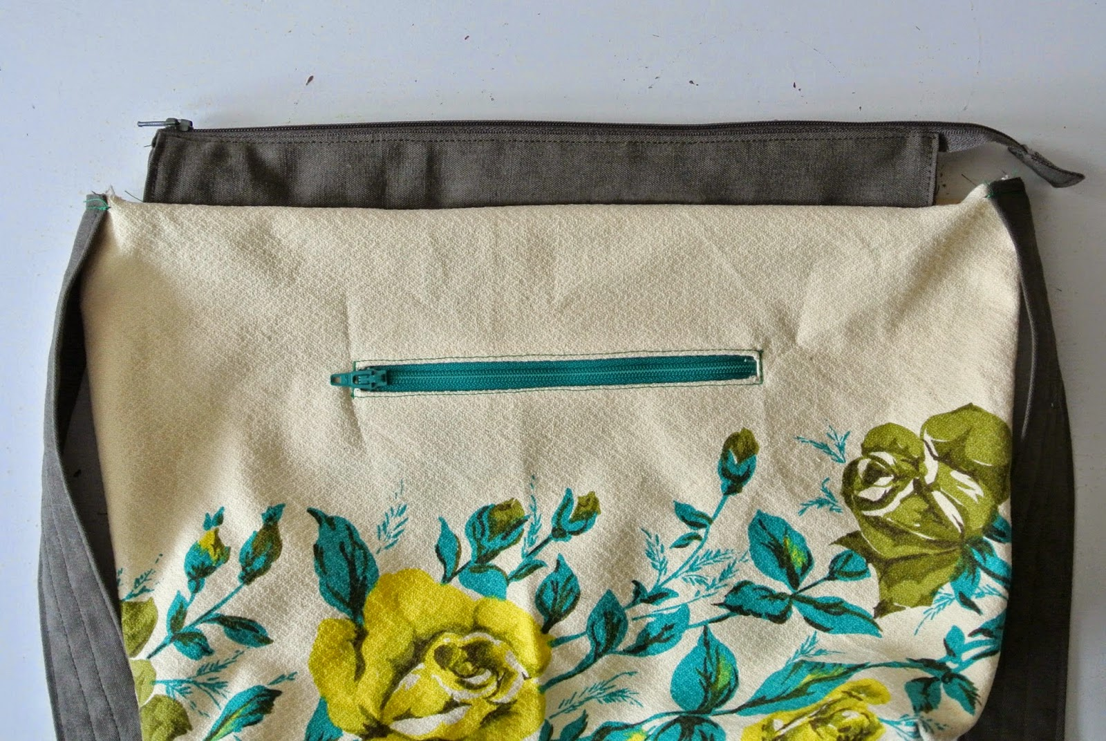 Stoffen tassen maken : Tutorial een rits toevoegen aan je tas sew natural