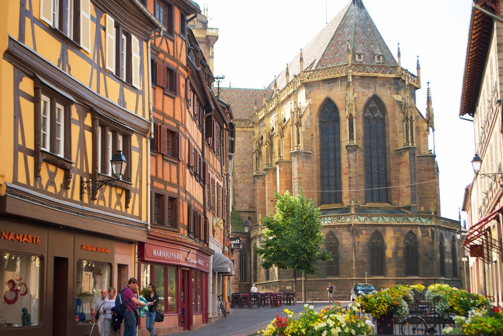 st. martin's church in colmar
