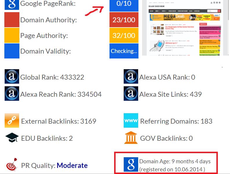 Cara Mengetahui Umur Website atau Blog Terbaru