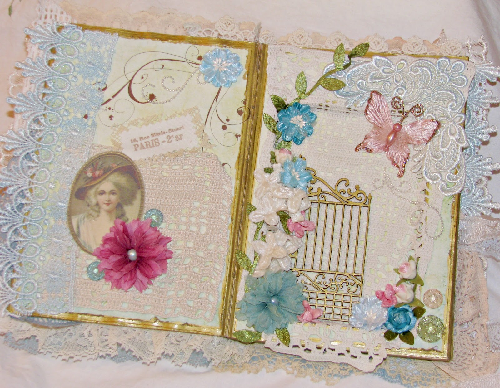 Altered Book Cover Tutorial ~ Life in my studio altered book tutorial