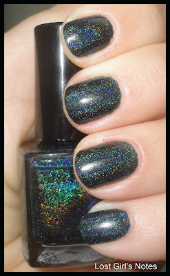 3d glitter gal holographic nail polish lizard belly