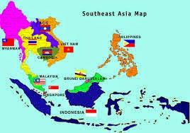 Posisi dan Letak Geografis Kawasan Asia Tenggara