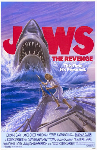 Poster Of Jaws The Revenge 1987 Full Movie Download 300MB In Hindi English Dual Audio 480P ESubs Compressed Small Size Pc Movie