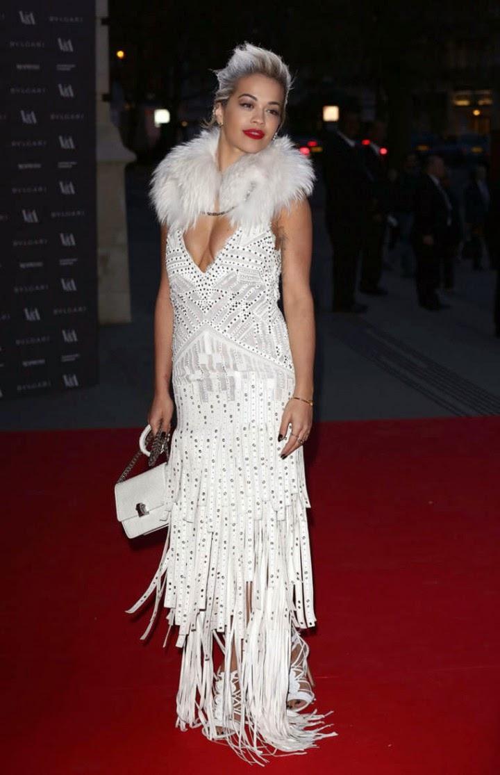 Rita Ora Cleavage Nude Photos 67