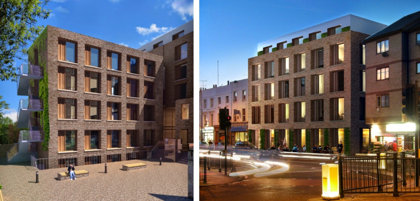 Brockley Central Student Accommodation Plan For The Walpole