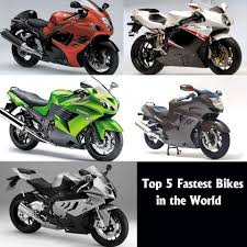 Top 5 Fastest Motorbikes In The World 2014