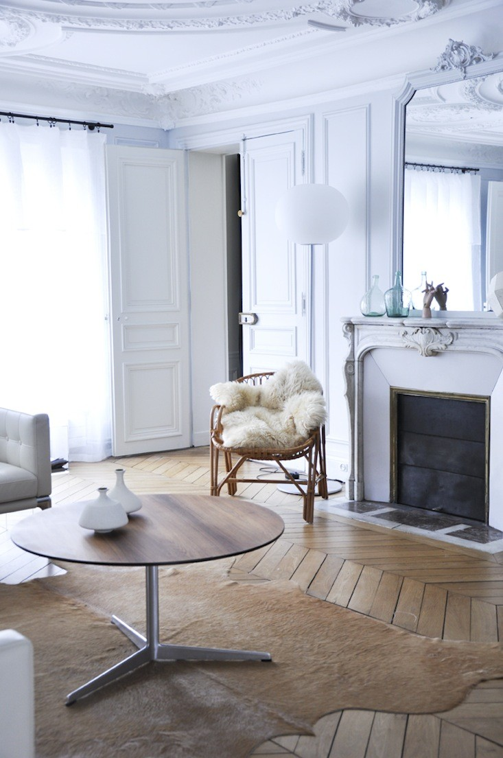 Deconauta space apto en paris estilo haussmann for Parquet carrelage paris