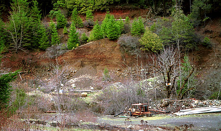 Southwest oregon mining facts mining in southwest oregonnothing the closed leopold mine on galice creek 2000 sciox Image collections