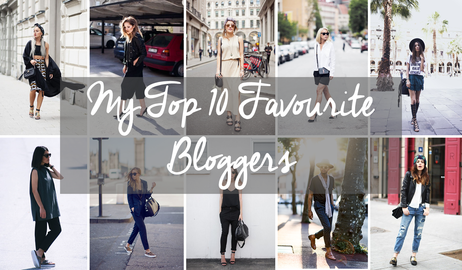 10 Favourite Bloggers