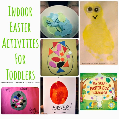 Easter Activities For Toddlers. www.lukeosaurusandme.blogspot.co.uk
