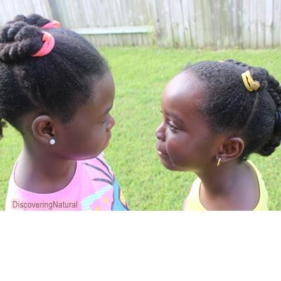 Natural Hair Kids Wash Day Hair Care