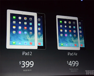 Apple unveiled Ipad Air and iPad mini with Retina display 11