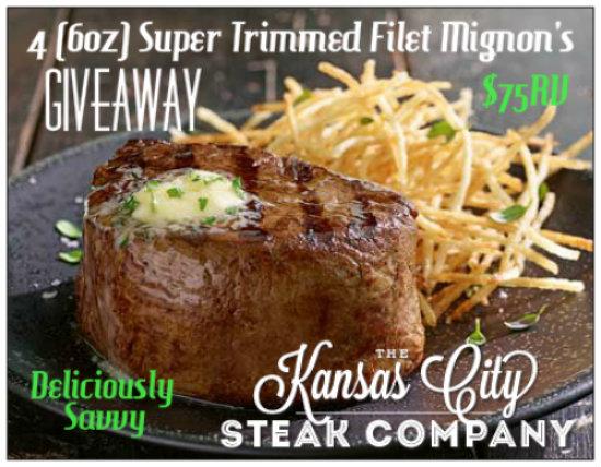 Kansas City Steak Giveaway