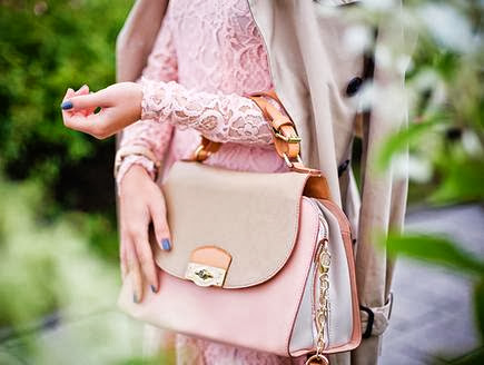 Baby Pink Colour Clutch