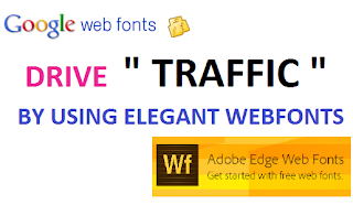Drive Traffic To your website using elegant fonts -ittwist