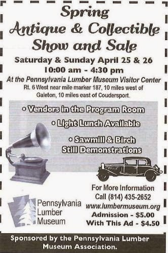 4-25/26 Antique & Collectible Show & Sale