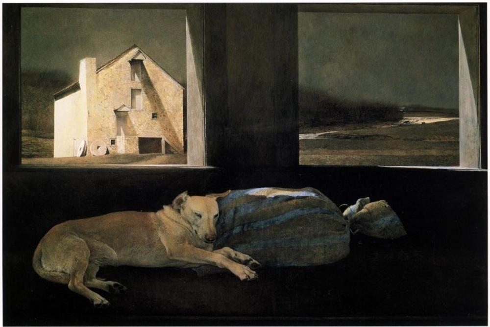 Andrew Wyeth..one of my