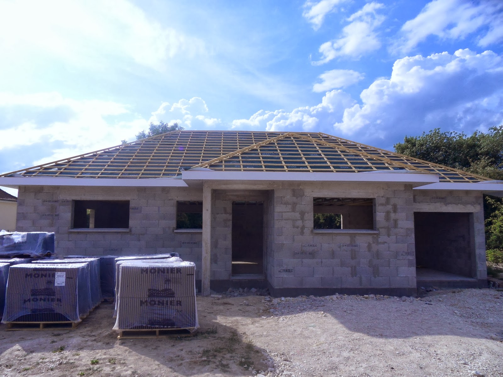 Ca va vite avis babeau seguin blog de la construction maison dans le 51 critique et photos - Forme de toiture maison ...