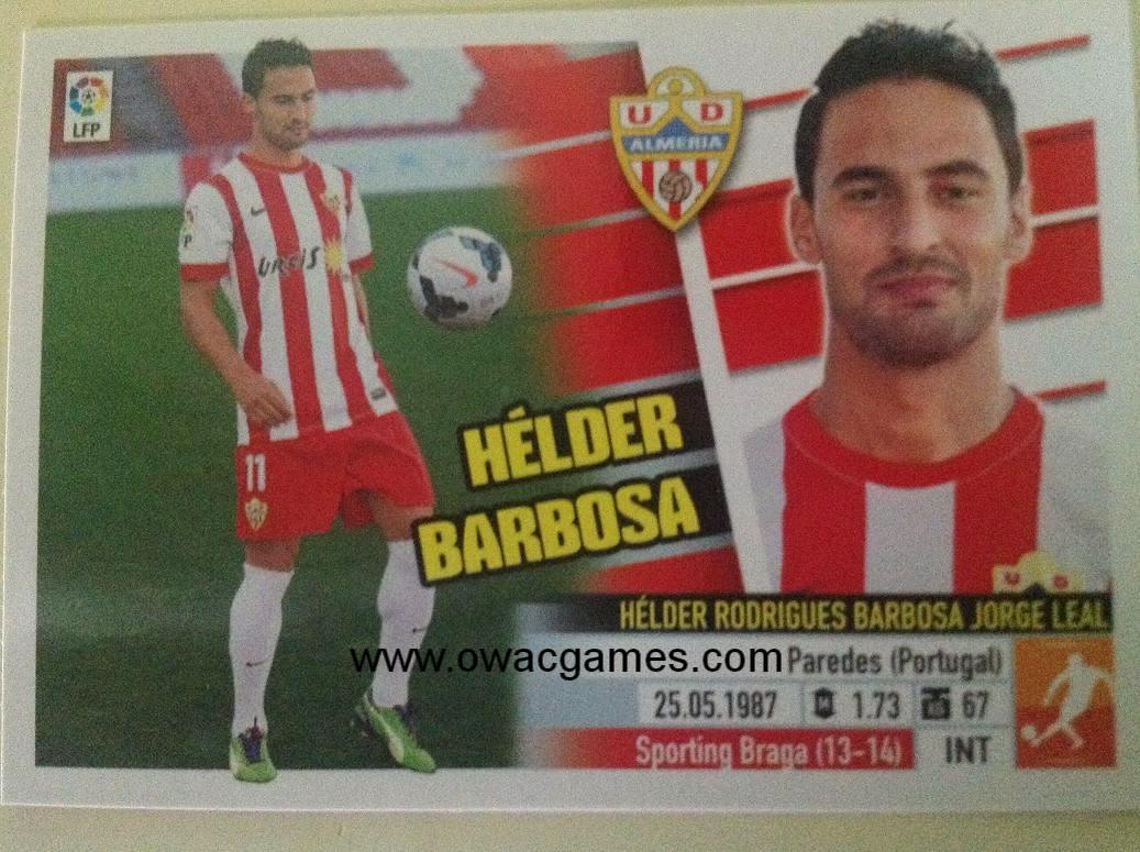Liga ESTE 2013-14 Almeria 13B - Coloca - Hélder Barbosa