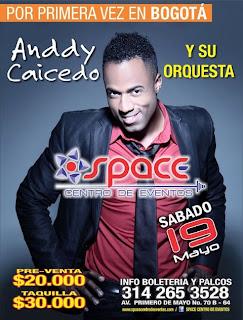 ► Anddy Caicedo y Su Orq. En Bogotá