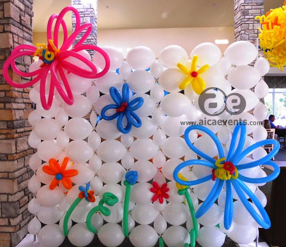 Balloon wall decor todosobreelamorfo balloon wall decor aicaevents twisted balloon decorations amipublicfo Gallery