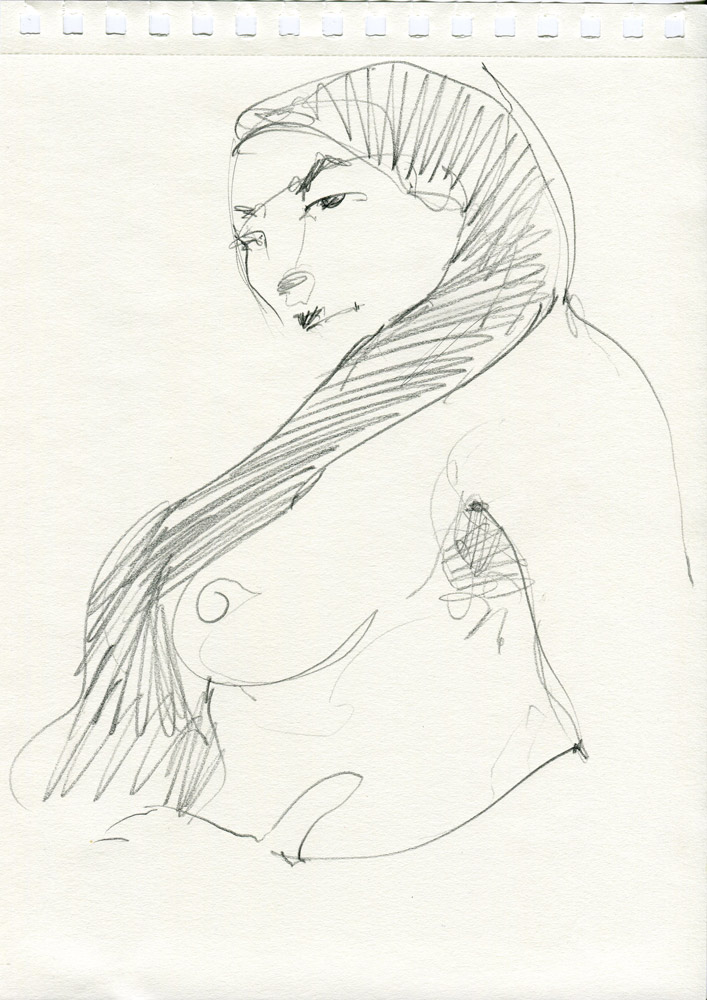 Two minute nude by David Meldrum