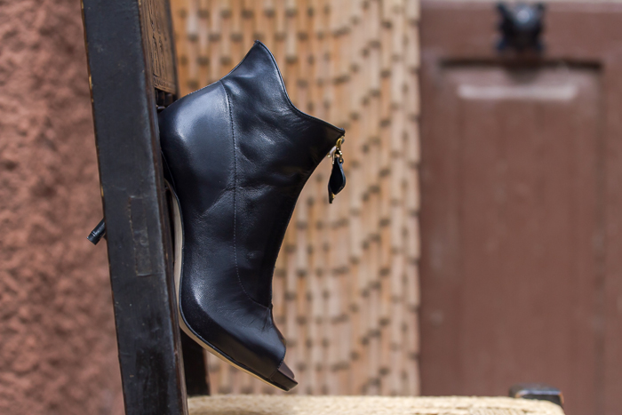 New Peep Toe Ankle Boots by Pedro Miralles