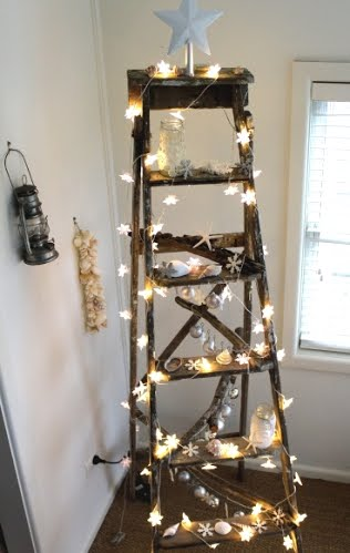 magical Coastal Christmas Ladder at Desire Empire, decorated with ...