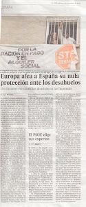 Diari El País divendres 9 de novembres del 2012