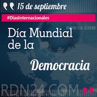 Día Mundial de la Democracia #DíasInternacionales