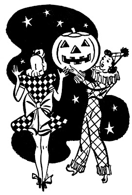 retro Halloween Image