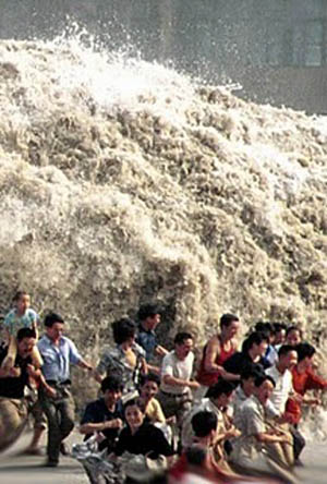 tsunami rising.