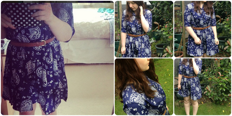 Choies Fashion: Paisley print dress