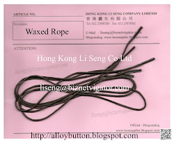 Waxed Rope Manufacturer and Supplier - Hong Kong Li Seng Co Ltd