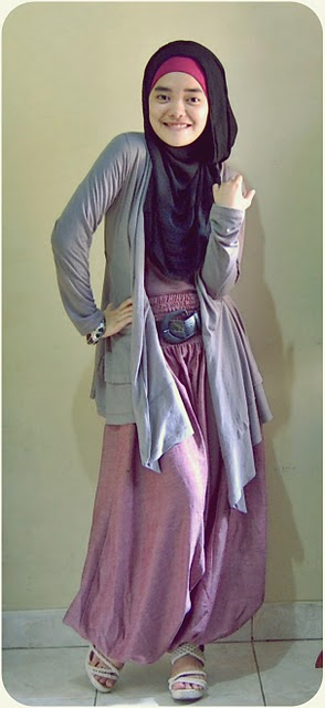 Hijabers Community Style Bergaya Ala Hijaber Tifani Anglila