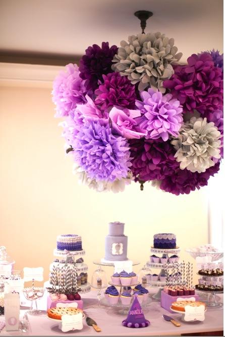 Decorations Plafond Mariage Chic Et Elegent Bleu Et Blanc