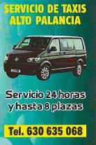 Servicio de TAXIS Alto Palancia