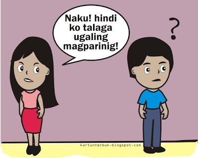 nagpaparinig pinoy tagalog cartoon