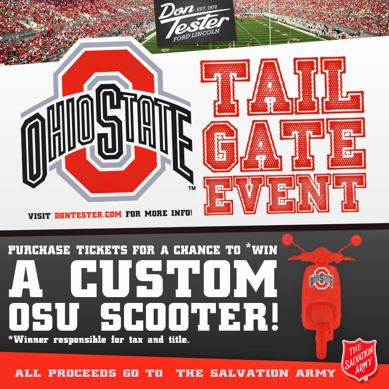 Ohio State Tailgate Event at Don Tester Ford Lincoln!